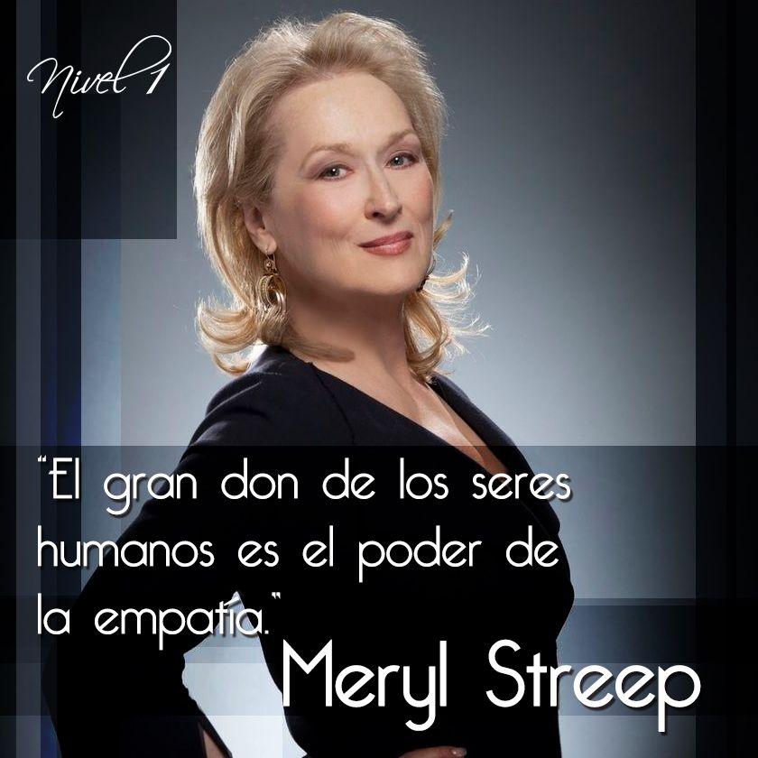 Meryl Streep Frases Citas Quotes Frases De Meryl Streep