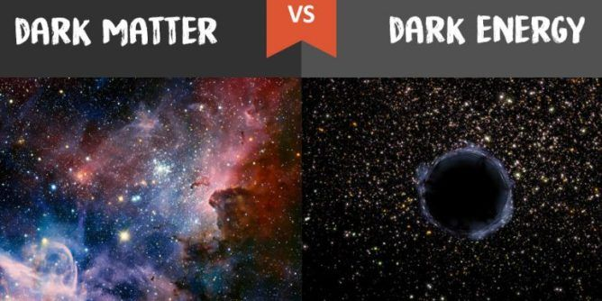 Dark energy vs Dark matter: What's the Difference | Dark ...