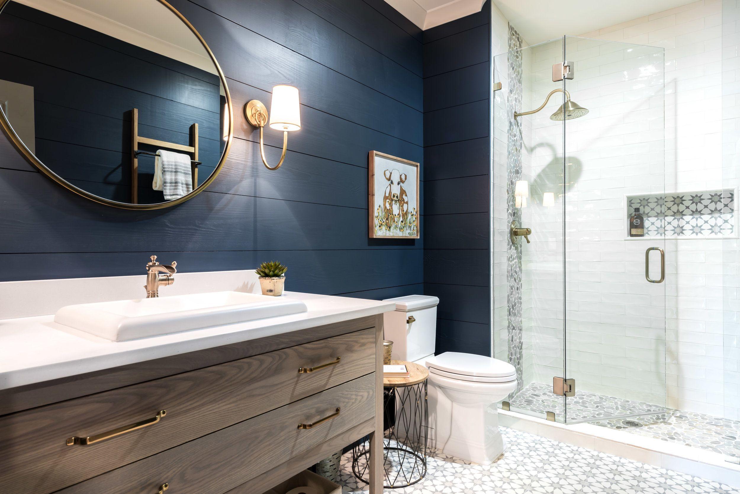 Hart Lock Bathroom Salle De Bain Noir Et Blanc Decoration