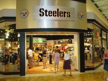 promo code 73b92 747fe Steeler Sideline Store at Pittsburgh Mills Mall   I love ...