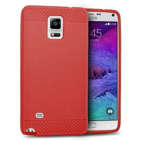 sale retailer bcfe2 edaa5 EagleCell Gel Case For Samsung Galaxy Note 4 - Red | Products ...