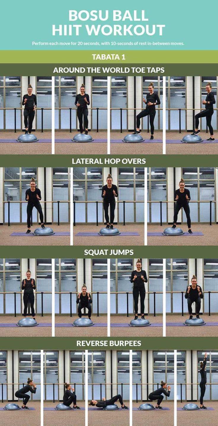 Bosu Ball HIIT Workout - Afitcado