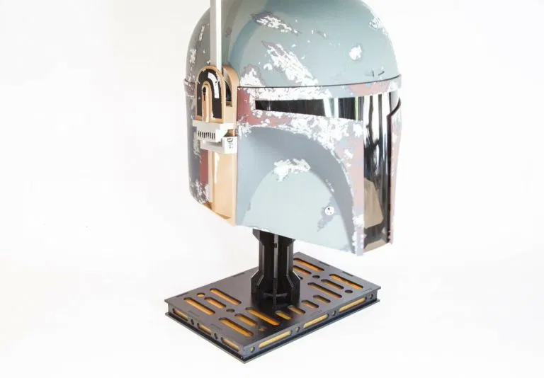 Star Wars Boba Fett Helmet Display Stand Star Wars Helmet Boba Fett Helmet Helmet