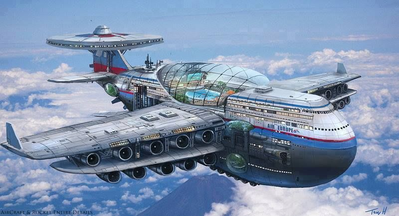 Are Flying Cruise Ships A Possibility Would Be Pretty Awesome - Flying cruise ship
