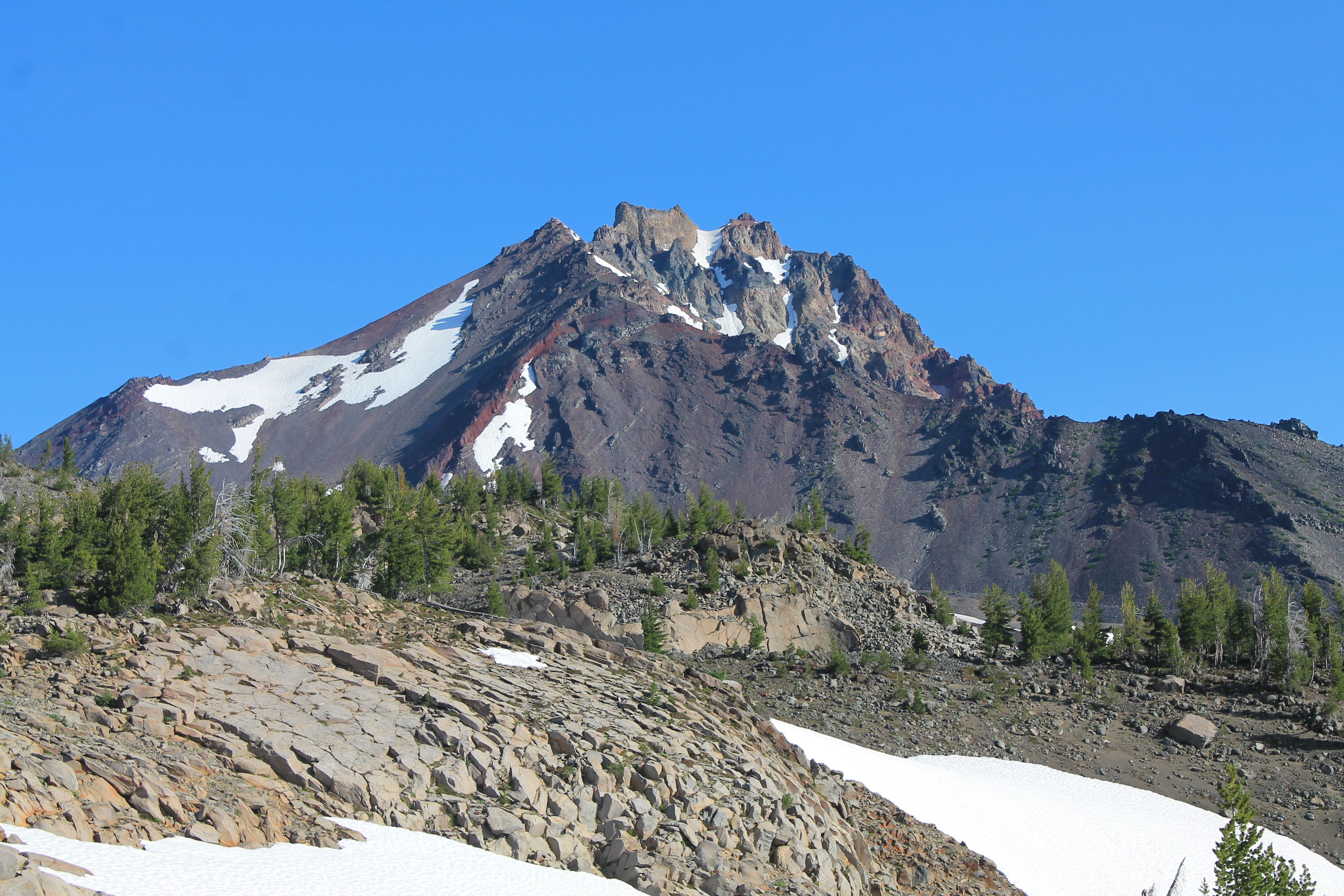 North Sister, ascended by Paul soloing on Sunday