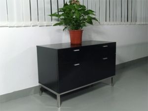 Florence Knoll 2-Unit Credenza 2 Box-Drawer - Click to enlarge