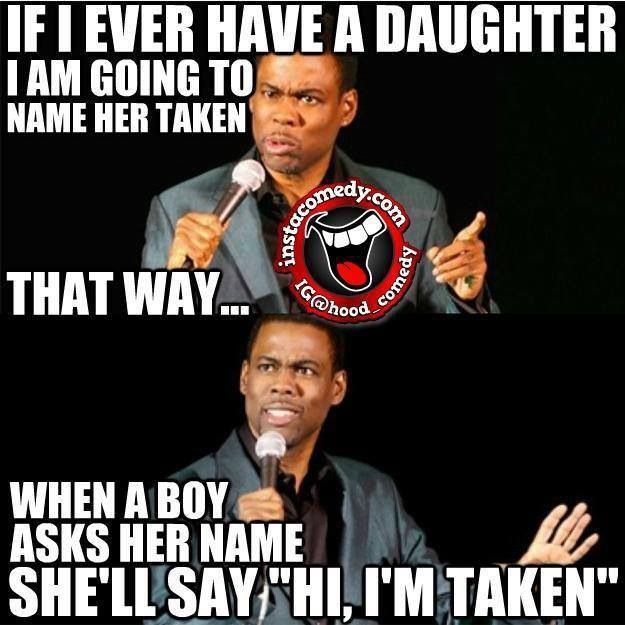 My daughters name   To be a parent   Funny jokes, Chris ...