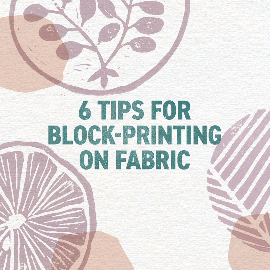 Join artist and author Jen Hewett and learn to block-print your own fabric designs. Learn to carve blocks, print them with water-soluble inks, and build design repeats for custom fabrics you can sew into garments, quilts or home dec projects. An easy apron pattern is included for your first yard of block-printed fabric!