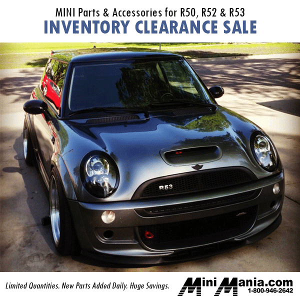R50 R52 R53 Mini Parts Accessories Inventory Clearance At Mania Limited Quanies New Added Daily Huge Savings