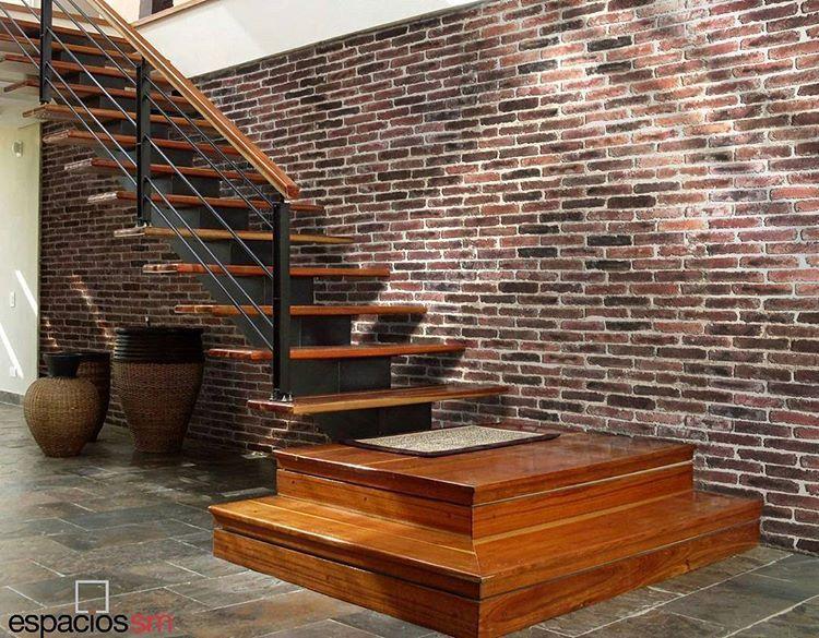 Nuevo revestimiento concreto arquitect nico tipo ladrillo r stico ideal para ladrillo - Fachadas ladrillo rustico ...