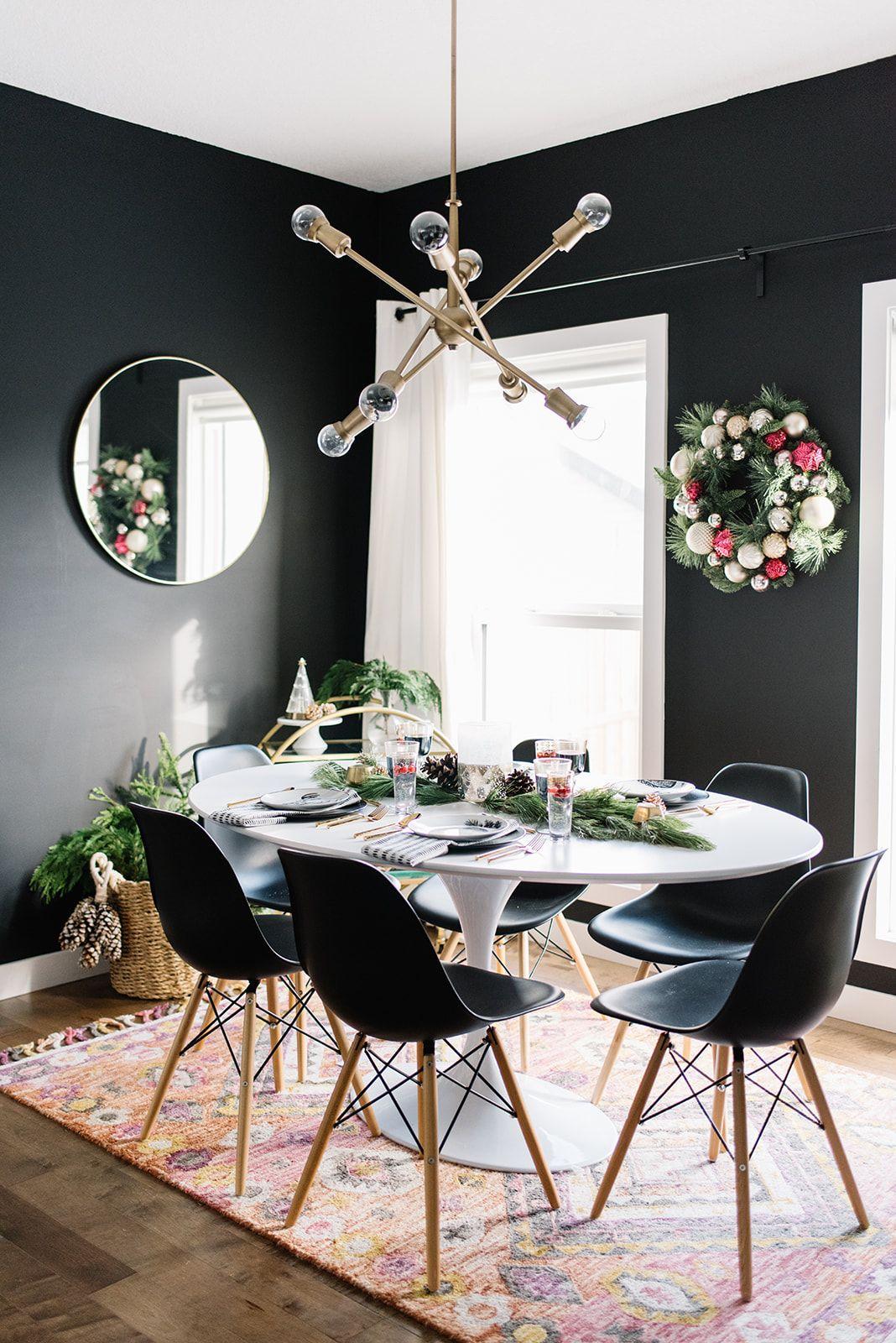 Modern black dining room also demystifier mythes en deco interior design ideas home decor rh br pinterest