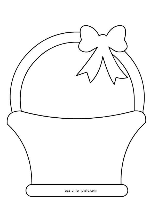 Flower Basket Line Drawing : Easter basket pattern páscoa pinterest