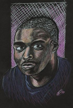 Portrait Sketch by sammo371, via Flickr