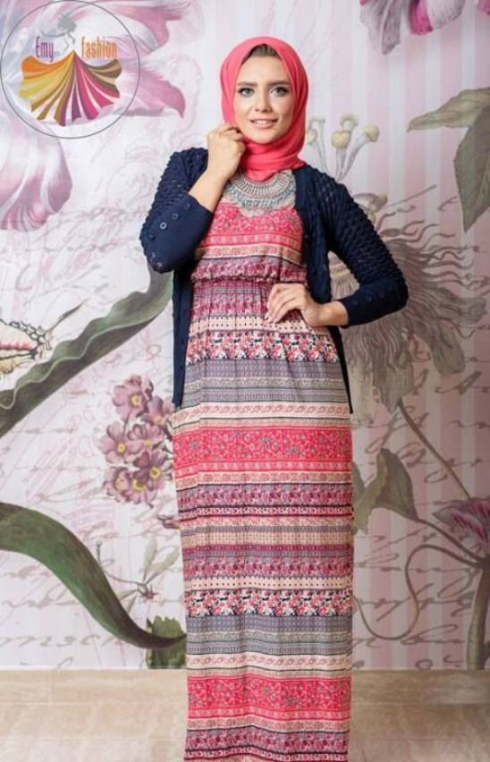 bf3e1b7257b0f1f50189a381c7a796c7 model baju muslim casual untuk ibu muda busana muslim,Model Busana Muslim Casual