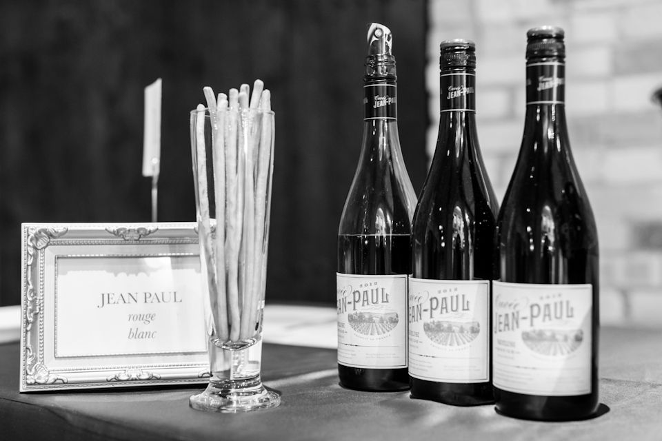 Once of the many wine selections available at our tasting