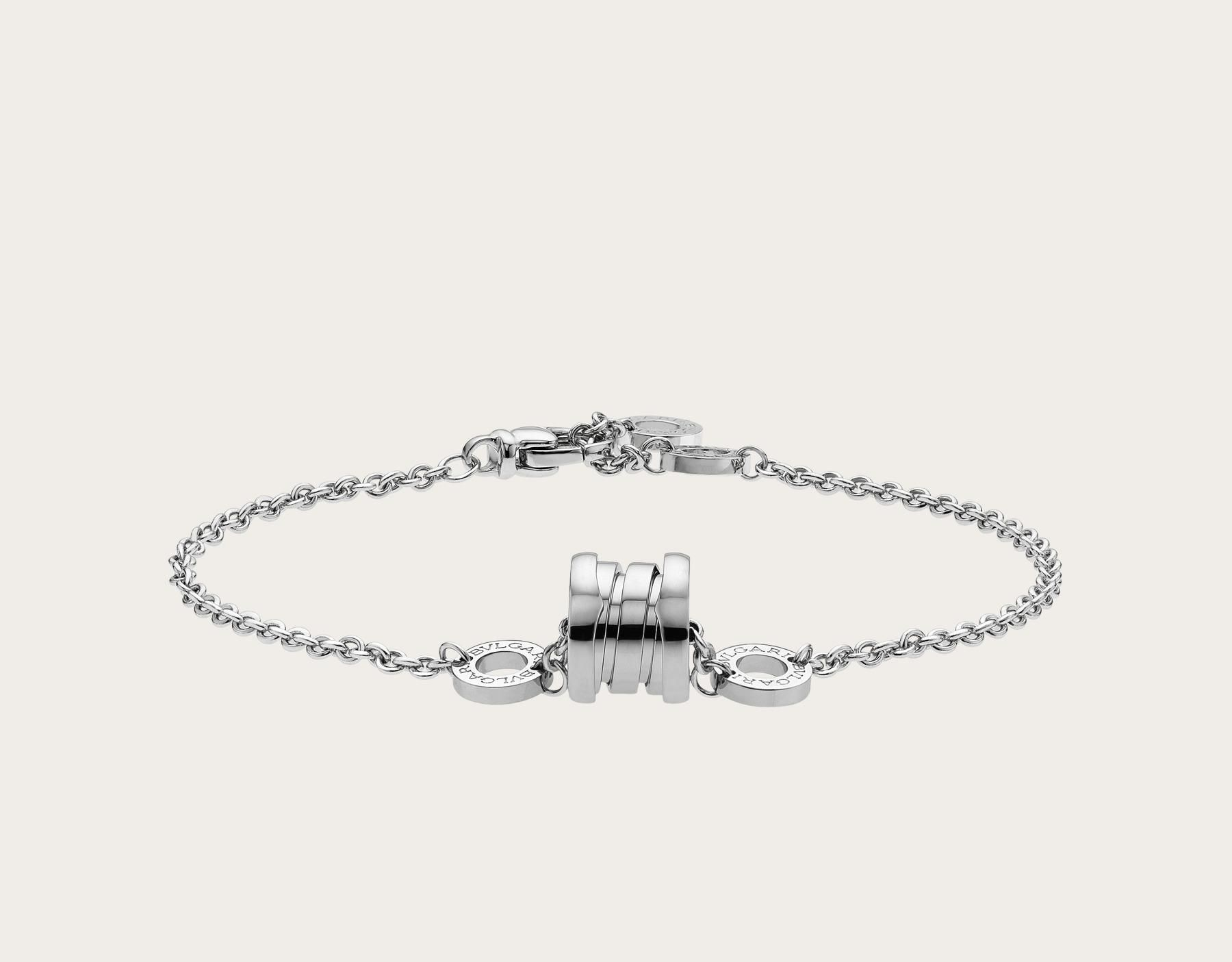e7649c5c4ad2b Photo number 1: B.zero1 soft bracelet in 18kt white gold. Stock Code ...