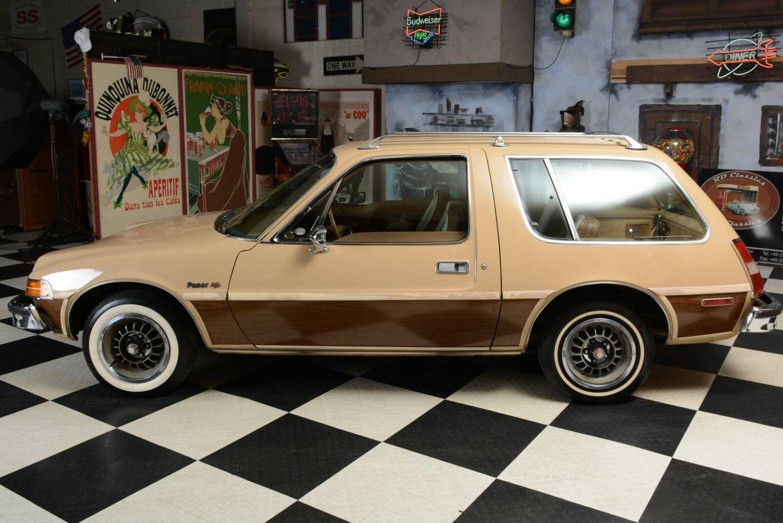 1977 Amc Pacer Wagon Amc American Motors Car Station