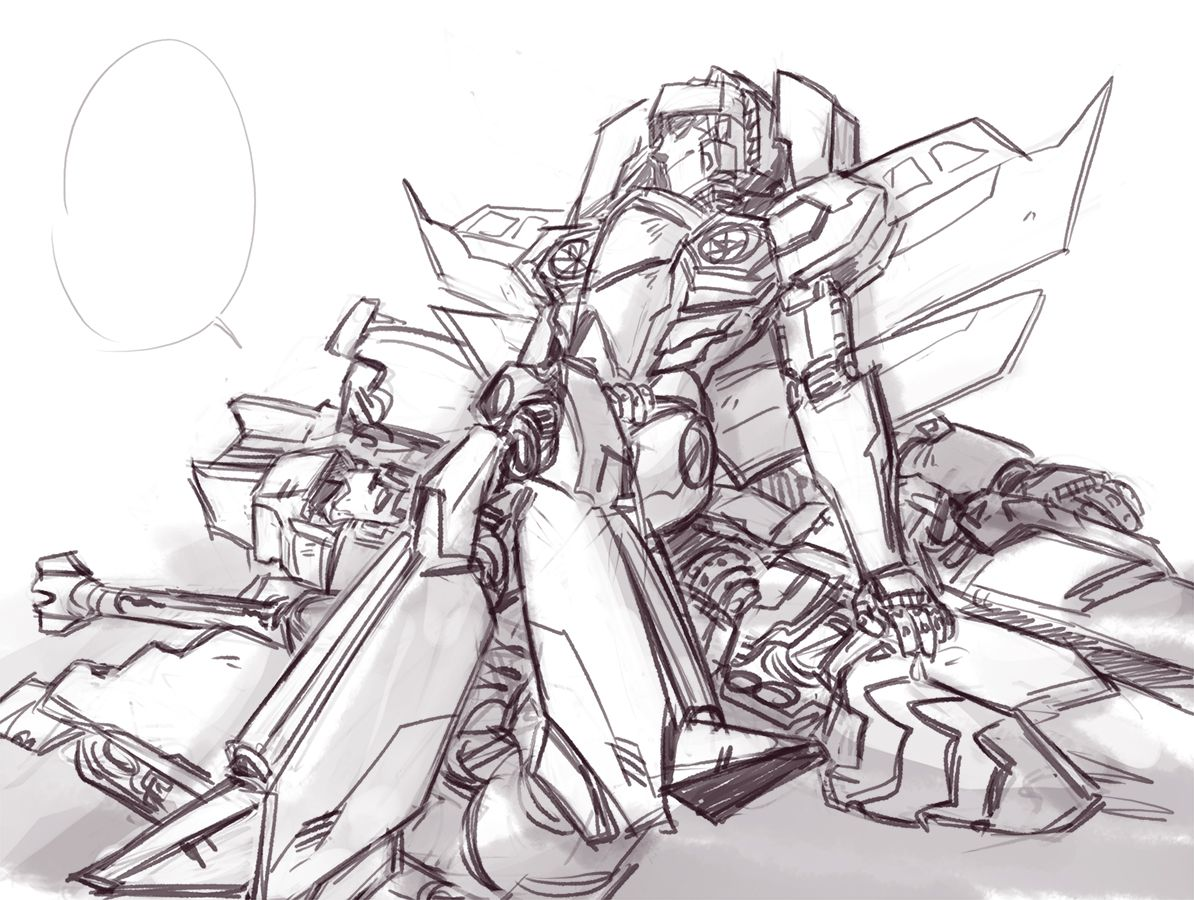 "kokokosir "" okay here i go "" Transformers starscream"