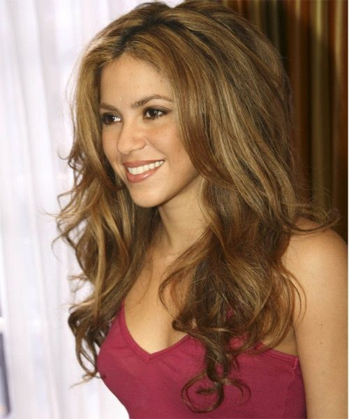 Color de pelo natural de shakira