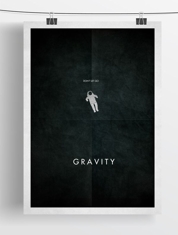 minimalist film posters by Zoki Cardula, via Behance