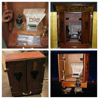 The Actual Dybbuk Box Which Inspired The Movie The Possession This Actual Wine Cabinet Was For Bid On Ebay And Bought By Creepy History Cursed Objects Creepy