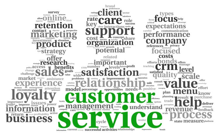 Show customers that you care Business Administration level 1