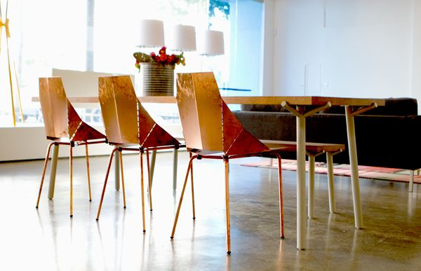 Ordinaire Real Good Chair In Copper | Blu Dot San Francisco Showroom