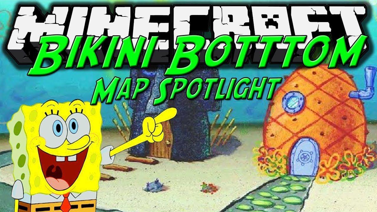 Spongebob Minecraft Map Downtown Minneapolis Skyway Map Birmingham - Minecraft an spielen