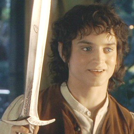 Frodo and Sting.