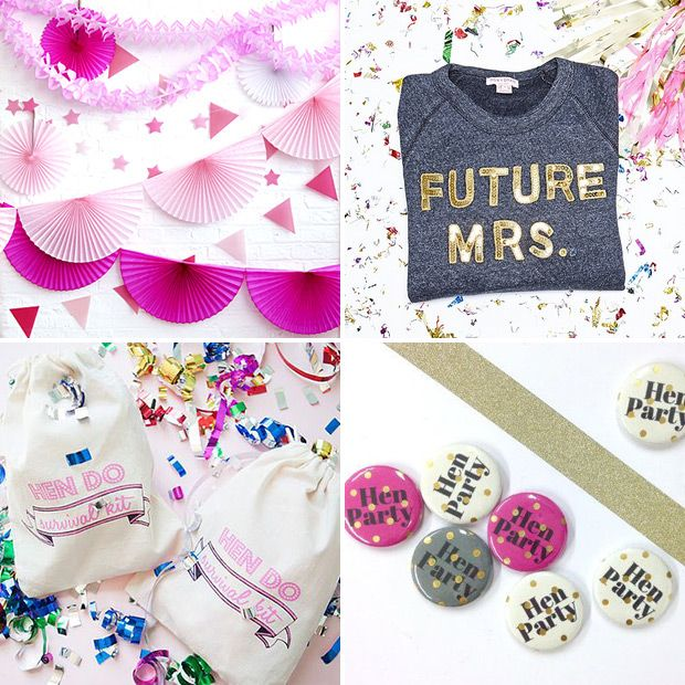 Where To Find Non Tacky Hen Party Decor And Stylish Accessories Www Onefabday