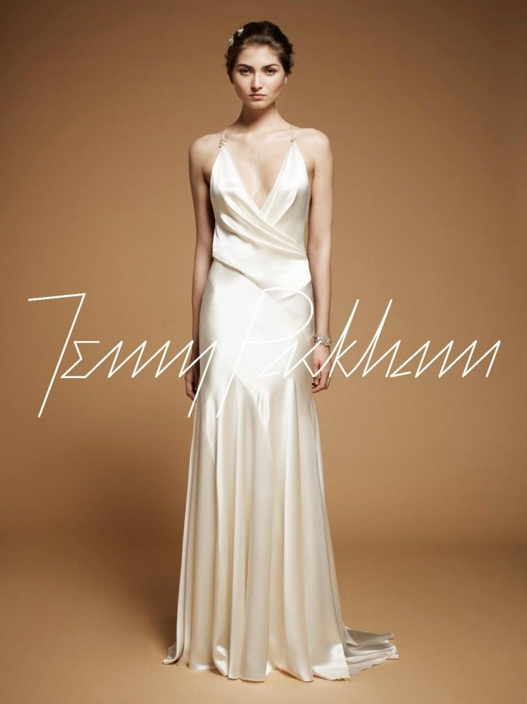 Jenny Packham, love the silk charmeuse and of course bias cut ...