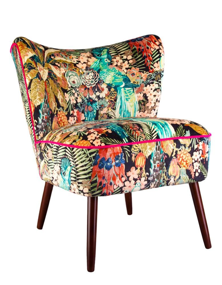 Bespoke Bartholomew Vintage Style Cocktail Chair in