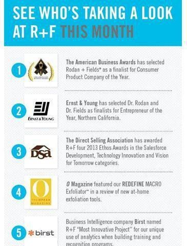 Just Some Amazing Awards Rodan And Fields Dermatologist Have Won