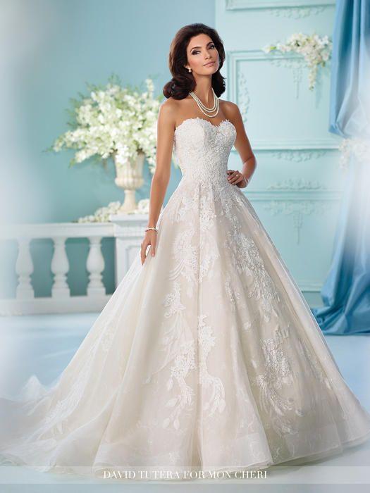David Tutera Bridals 216255 David Tutera for Mon Cheri Bridal Best ...