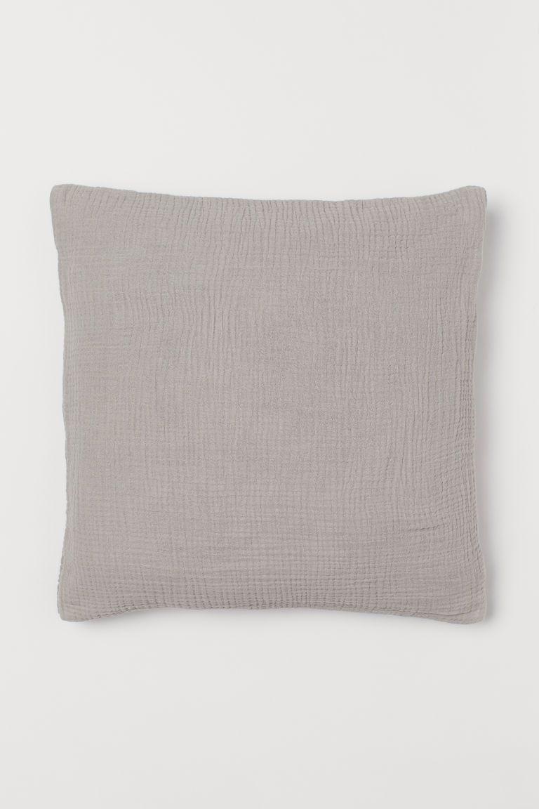 Cotton Muslin Cushion Cover I 2020 Personlig Stil Dragkedja Inbjudningar