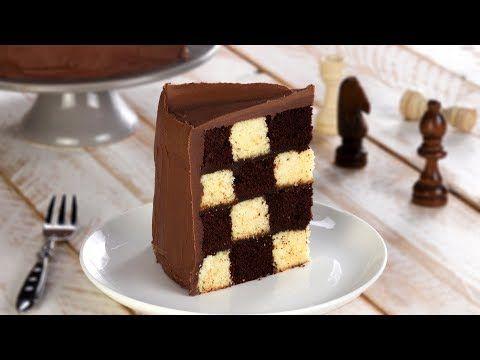 Schach Kuchen Rezept Fur Eine Saftige Schwarz Weiss Torte Zu