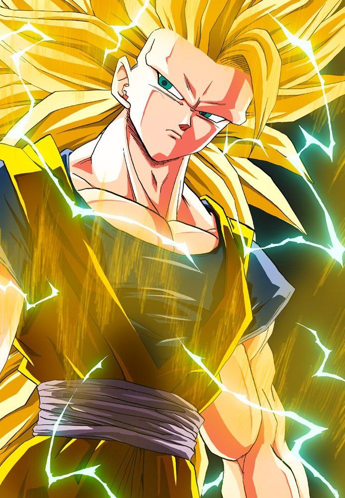 Goku super saiyan 3 comics y superheroes pinterest super saiyajin goku super saiyajin y goku - Sangohan super saiyan 3 ...