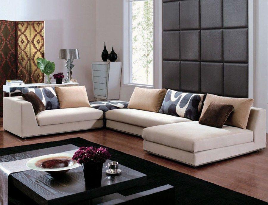 Contemporary Sofa For Elegant Living Room And Pleasing