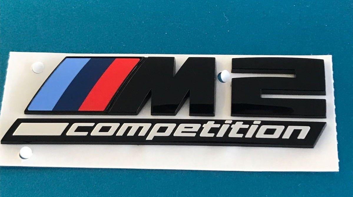 Bmw M2 Competition Schriftzug Schwarz