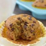 Caramel Mocha Chip Banana Muffins