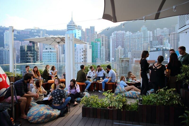 The Best Rooftop Bars To Grab A Drink At In Hong Kong Best
