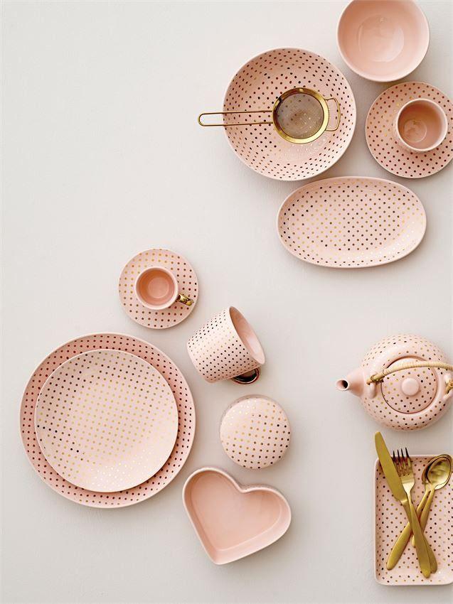 Soft Pink Polka Dot Mug Diy Tableware Tableware Pink Polka Dots