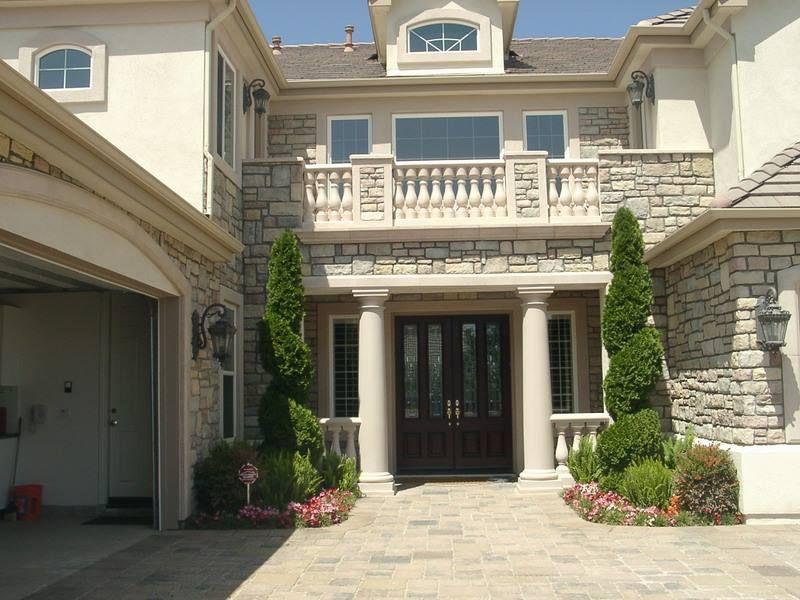صور مداخل فلل صور جميله لمداخل فلل 2976 5 House Styles House Mansions