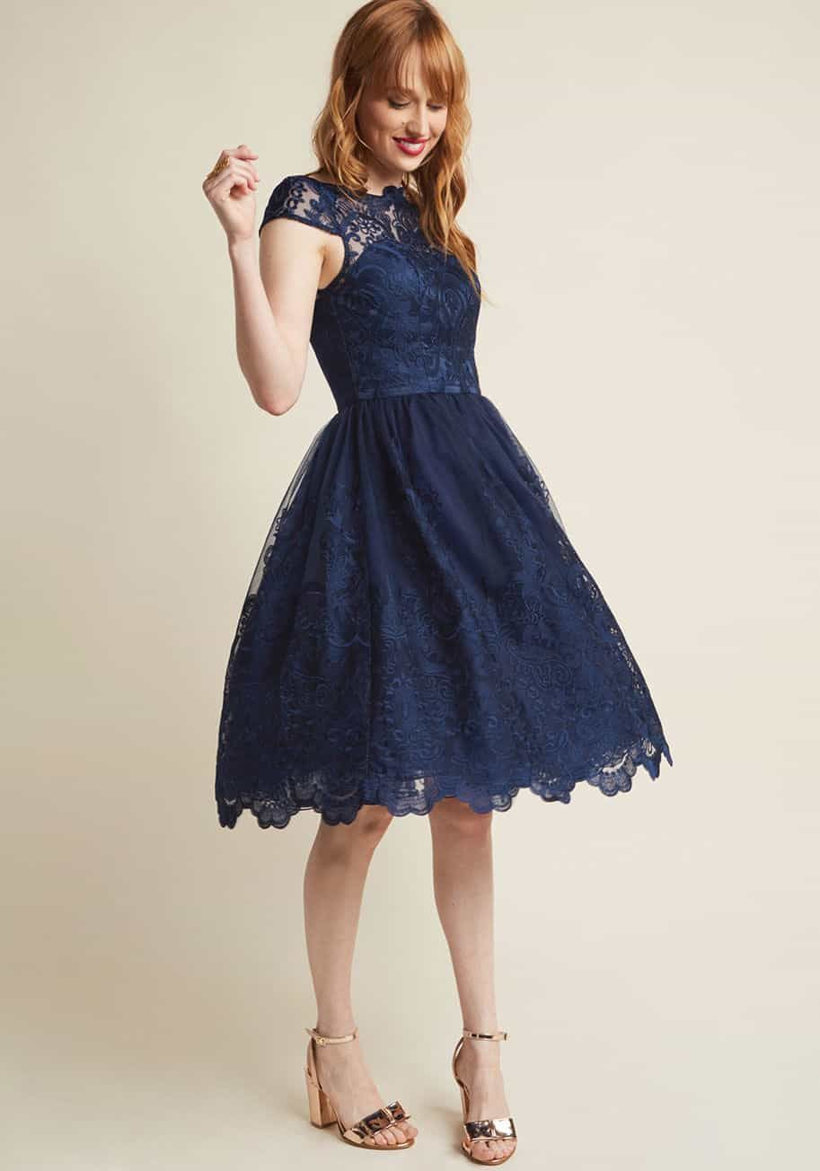 Dark Blue Dresses for Wedding Guests  Dress for the Wedding