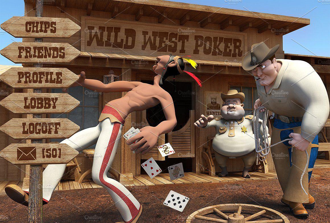 Wild West Poker game assets. ProfileFriendschipsShare