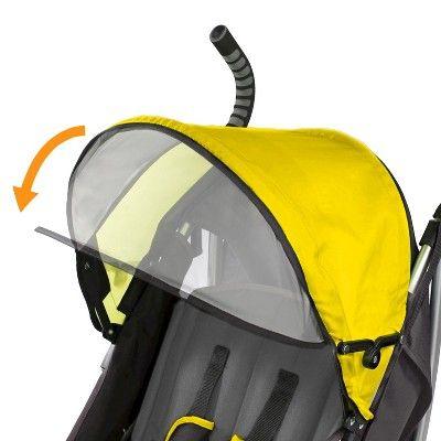 Summer Infant 3d Lite Convenience Stroller Yellow Citrus