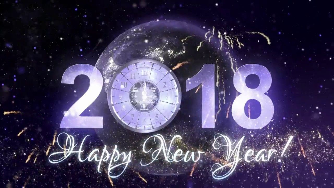 New Year Countdown Party Celebration 2018 After Effect