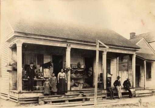 The old telegraph office  Historic Photographs of Southwest - copy southwest blueprint dallas