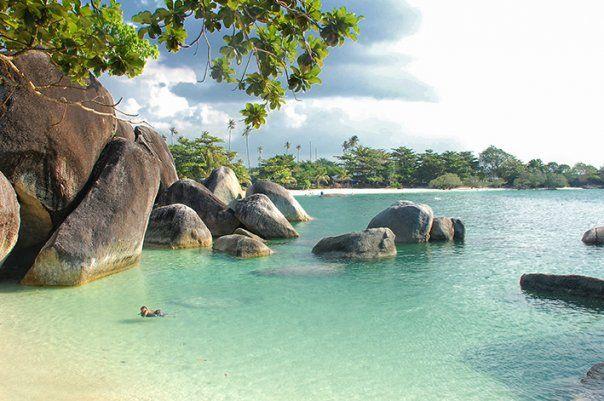 Tanjung Tinggi in Belitung