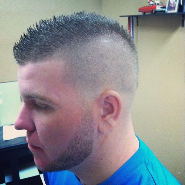 45++ How to cut a fohawk haircut ideas